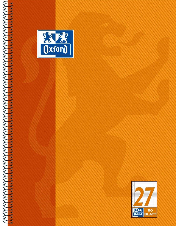 Oxford 100050360 100050360 100050360 Collegeblock, A4, liniert   Rand li.  re.   4-fach gelocht   Mikroperforation, 80 Blatt, 20er Pack, Orange B01IQZ9I08   Erlesene Materialien    Üppiges Design    Ausgang  a0cab0