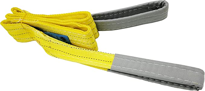 Nylon 2-ply 3 x 9 Liftall EE2603NTX9 Eye-Eye Web Sling Twisted-Eye 3 x 9/' LIF   EE2603NTX9
