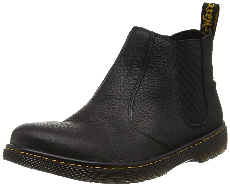 Dr. Martens Lyme Grizzly Black, Men's Chelsea Boots, Black Grizzly, 9 UK