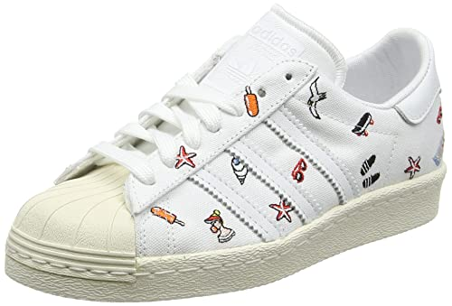 sports shoes 0d767 27042 adidas Superstar 80S Scarpe da Ginnastica Basse Donna, Bianco Footwear off  White, 36 EU