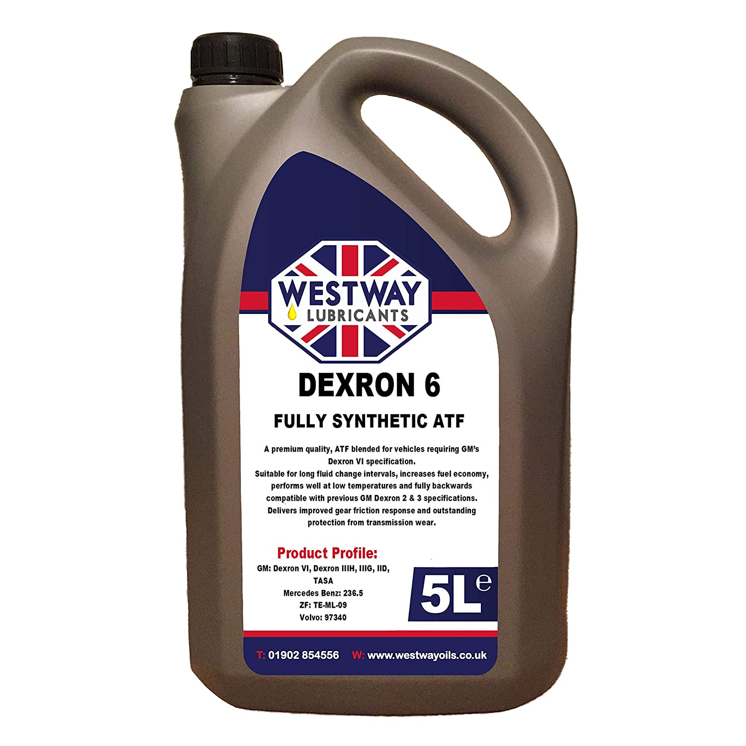 Westway Lubricants ATF Dexron 6 / VI Synthetic Automatic