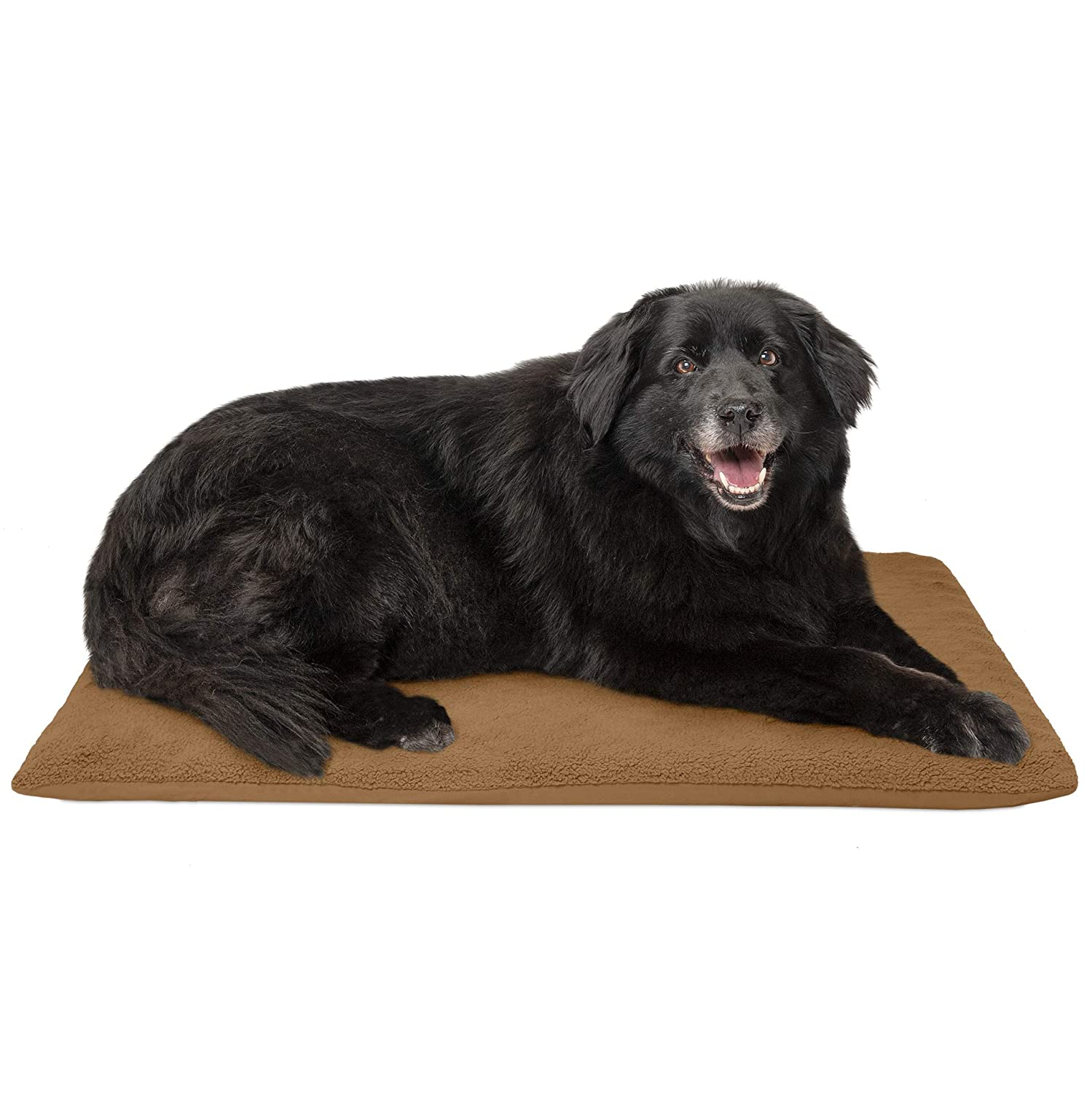 Camel (Terry) Large Camel (Terry) Large FurHaven Pet Dog Mattress   Terry Orthopedic Mat for Dogs & Cats, Camel, Large