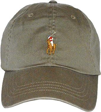 Ralph Lauren - Gorra de béisbol, Color Verde con Jinete: Amazon.es ...
