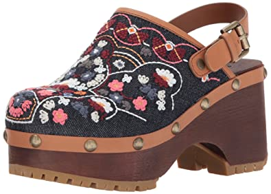 4e810b9473 Amazon.com: See by Chloe Women's Tasha Denim Clog: Shoes