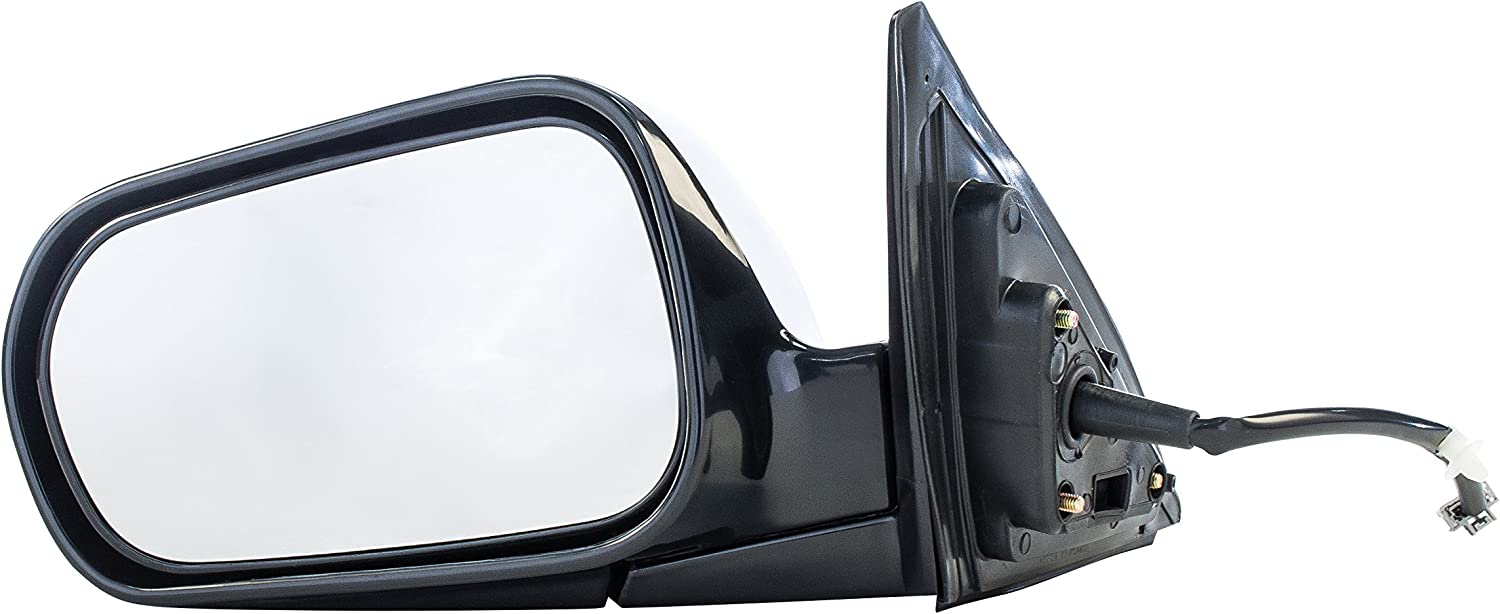 New Set of 2 Power Operated Door Mirrors For 4-Door Sedan Honda Accord 1998-2002