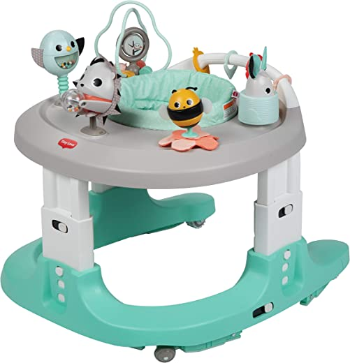Tiny Love Black & White Here I Grow 4-in-1 Walker & Mobile Activity Center, Magical Tales, One Size