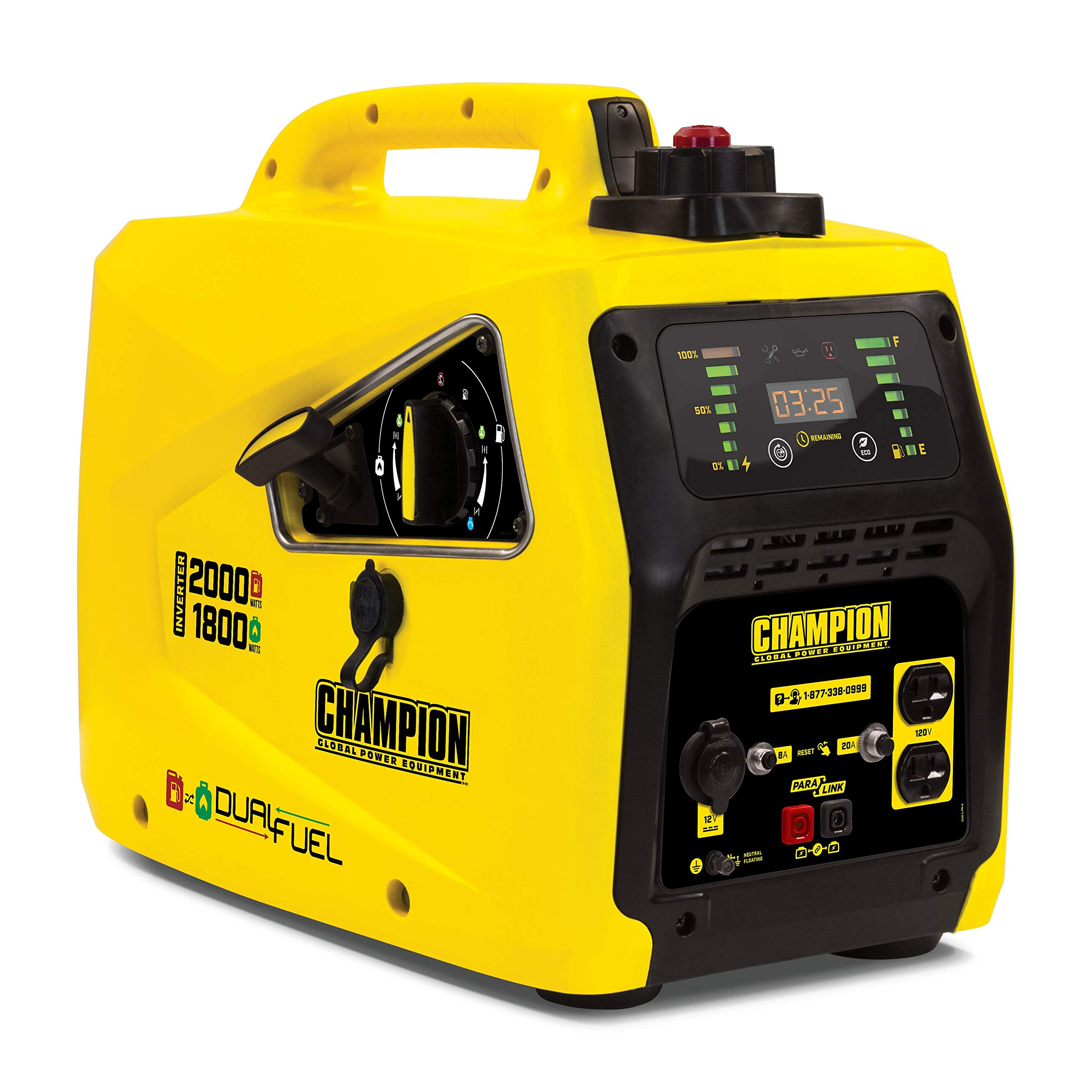 Champion Power Equipment 100402 2000-Watt Dual Fuel