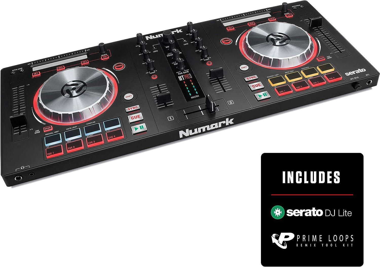 Numark Mixtrack Pro 3 Beginner DJ Controller