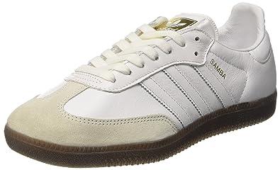 the best attitude c7fdc d335a adidas Damen Samba OG Sneaker Weiß Footwear WhiteGum, 36 23 EU
