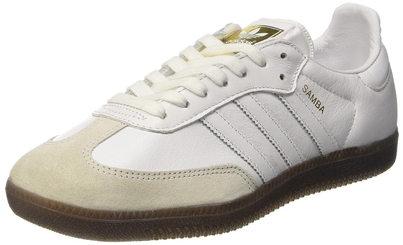 Adidas Samba OG W, Zapatillas para Mujer 42 EU|Blanco (Footwear White / Footwear White / Gum)