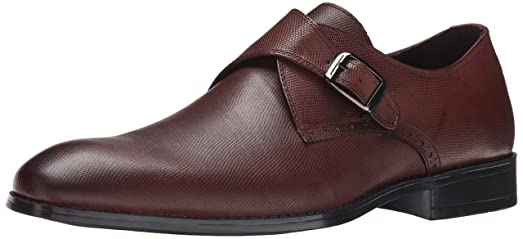RW by Robert Wayne Men's Valor Slip-On Loafer, Pebble Tobacco, ...