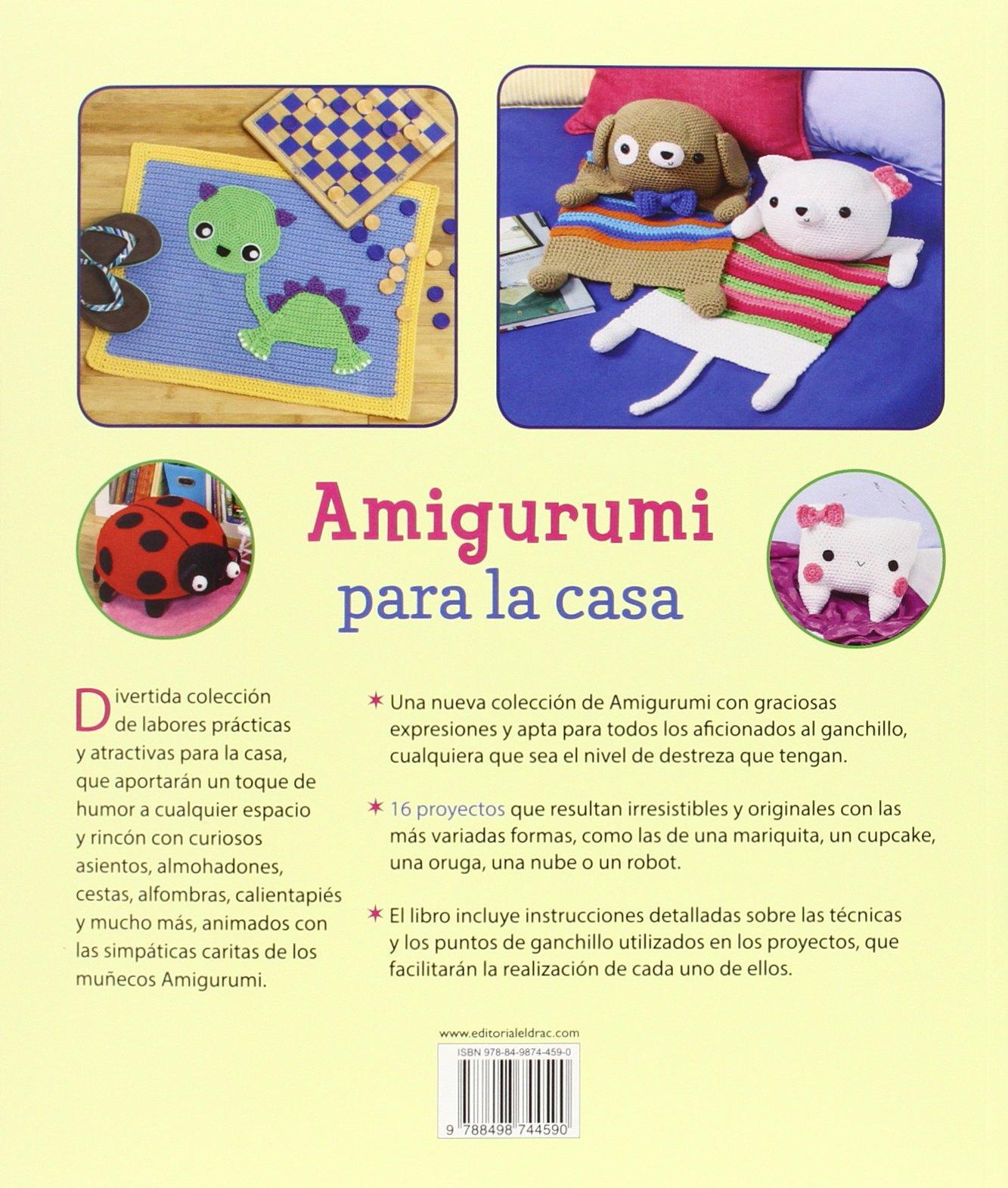 Amigurumi Para La Casa (Labores): Amazon.es: Ana Paula Rímoli, Esperanza González Vázquez, Ana María Aznar Menéndez: Libros