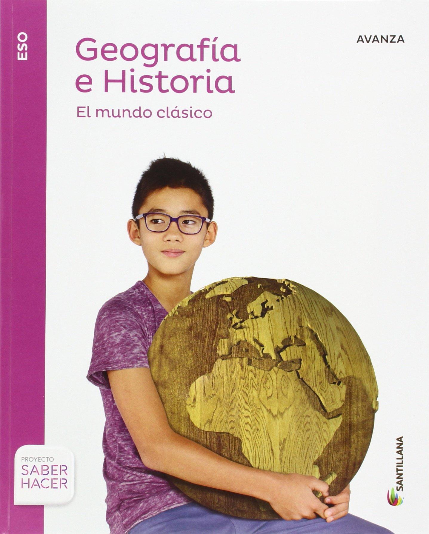 GEOGRAFIA E HISTORIA AVANZA 1 ESO SABER HACER - 9788414103098 ...