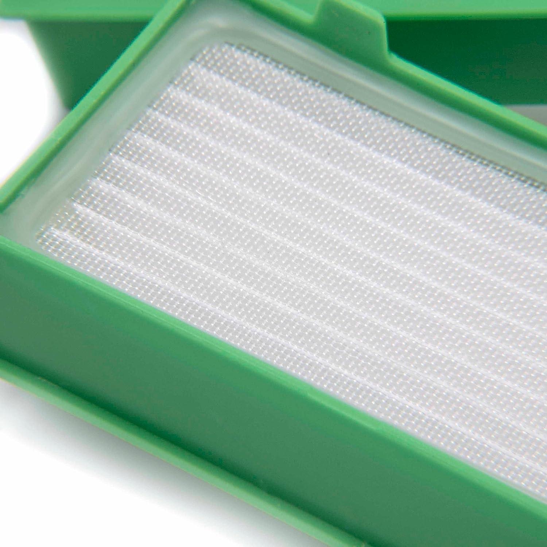 3X VR-200. antialergicos para aspiradoras Vorwerk Kobold VR200 vhbw Set de filtros