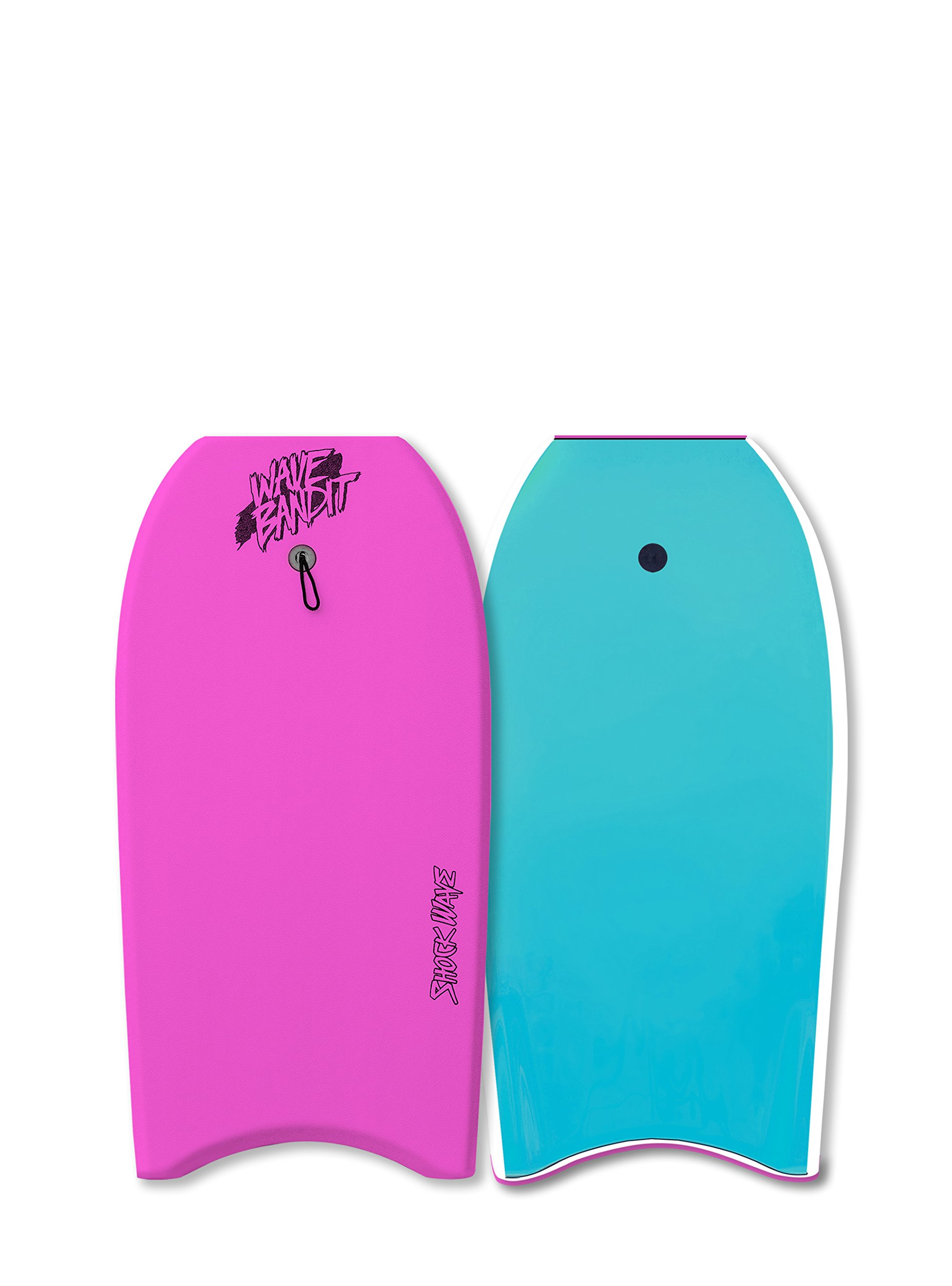 Catch Surf Wave Bandit Shockwave 36'' Body Board, Neon Pink