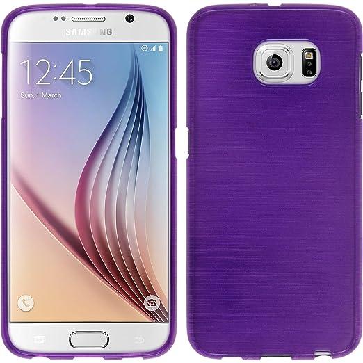 34 opinioni per PhoneNatic Custodia Samsung Galaxy S6 Cover porpora brushed Galaxy S6 in