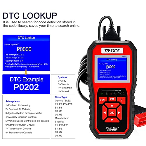 The TryAce SR950 OBD2 scan tool is one of the most accurate and reliable scanners.