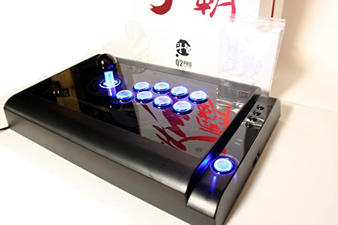 qanba Q2 Pro LED negro PS3/PC Joystick Arcade Fightstick ...