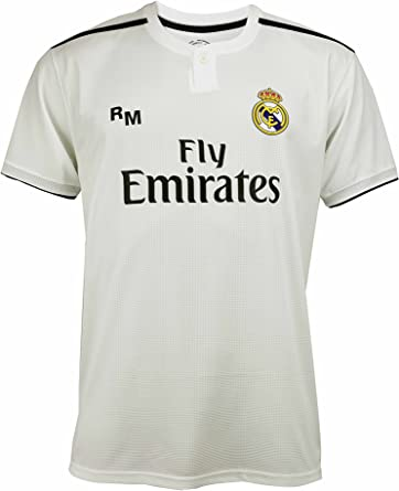 Real Madrid - Camiseta de fútbol réplica Oficial para niño ...