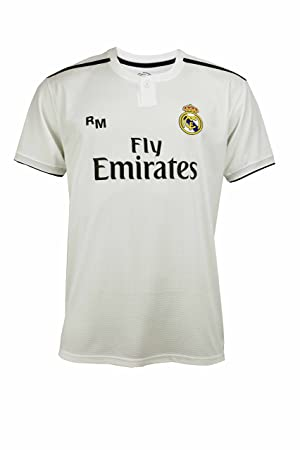 best website 1ead4 9b409 Real Madrid RMA-SA-3206 2C Men's Football Jersey White Size ...
