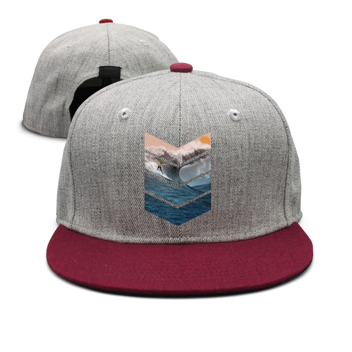 Sunrise Surfer Toddler Snapback Hats Designer SkyBlue It's For Toddler.