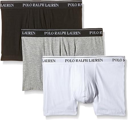 Polo Ralph Lauren - Juego de 3 pantalones cortos,Cintura ancha y elástica con logo.,95% Algodón, 5%