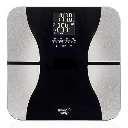 Amazon Com Smart Weigh Digital Bathroom Bmi Body Fat Weight Scale
