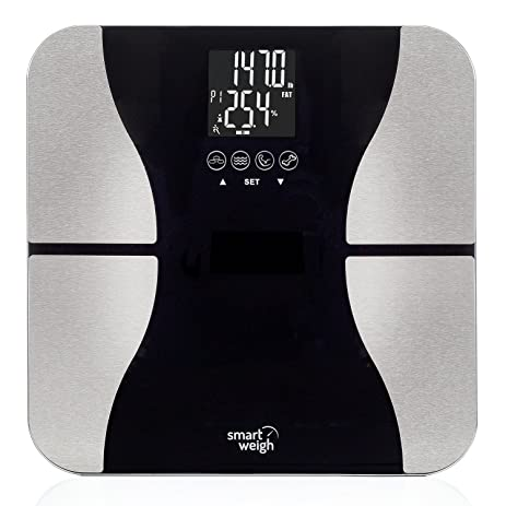 Amazoncom Smart Weigh Digital Bathroom BMI Body Fat Weight Scale - Large display digital bathroom scales for bathroom decor ideas