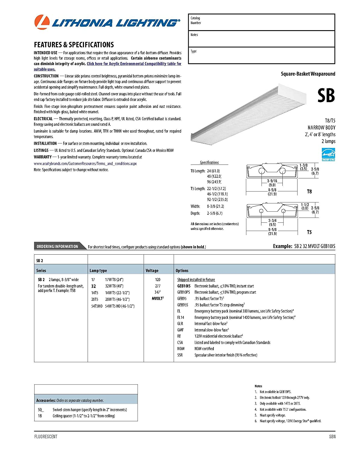 Lithonia Lighting T8 Wiring Diagram