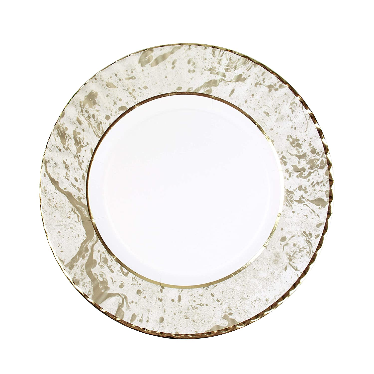 Talking Tables Gold Party Decorations | Gold Plates And Bowls Party Supplies | Gold Bowls | Paper, 12 Count PPG-DCO-BOWL