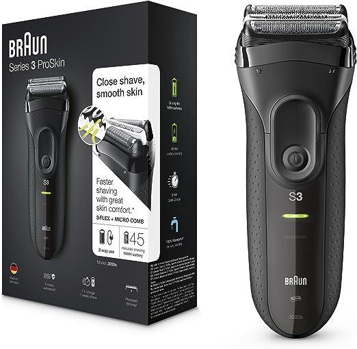 Braun Series 3 ProSkin 3020s Afeitadora Eléctrica Hombre ...