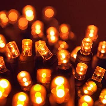 Image Unavailable - Amazon.com: 5mm LED Wide Angle Amber Prelamped Light Set, Green Wire