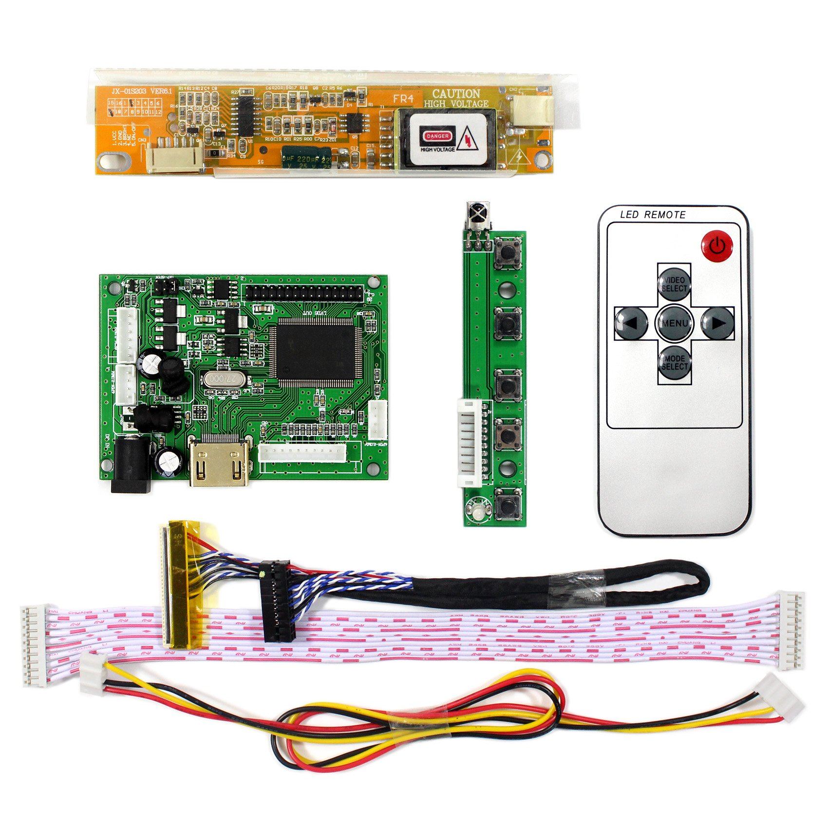 "HDMI Audio LCD Controller Board For 14.1/"" 15.4/"" B154EW02 1280x800 LCD Screen"