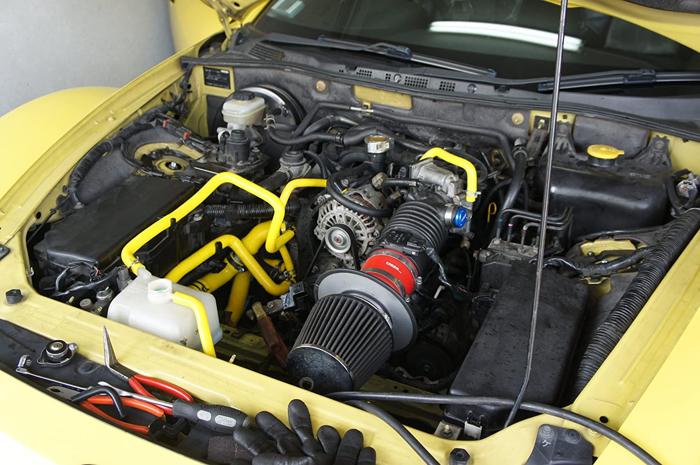 Amazon.com: Autobahn88 Radiator Coolant & Heater Silicone Hose Kit for 2003-2012 Mazda RX8 SE3P 13B MSP (Red -without Clamp Set): Automotive