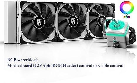 DEEP COOL Captain 360X Blanca RGB Refrigeración Líquida para CPU ...