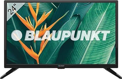 Blaupunkt Televisor TV Led 24 Pulgadas HD, BLAUPUNKT BN24H1032EEB. Resolución 1366 x 768, HDMI, VGA, USB Reproductor HEVC/H.265. [Clase de eficiencia energética A]: Amazon.es: Electrónica