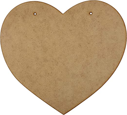 Wooden 4mm MDF Laser Cut All of me loves all of you
