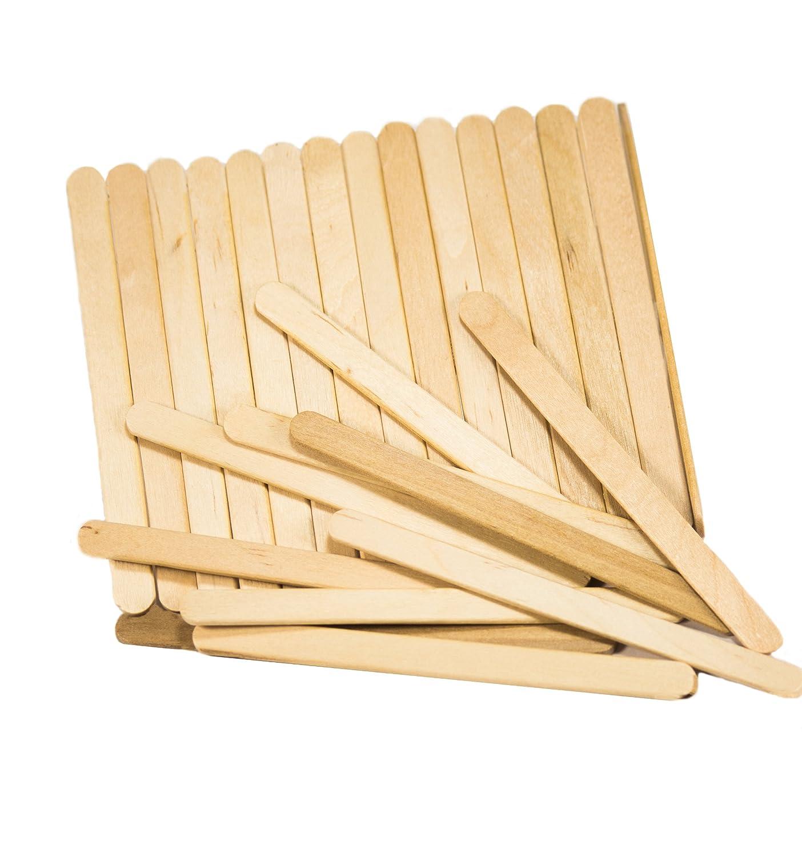 Amazon Perfect Stix Wooden Craft Sticks Ice Cream 45 Length Pack Of 100 Industrial Scientific