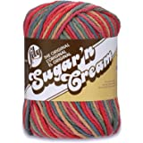 Lily Sugar 'N Cream  The Original Ombre Yarn - (4) Medium Gauge 100% Cotton - 2 oz -  Painted Desert  -  Machine Wash & Dry