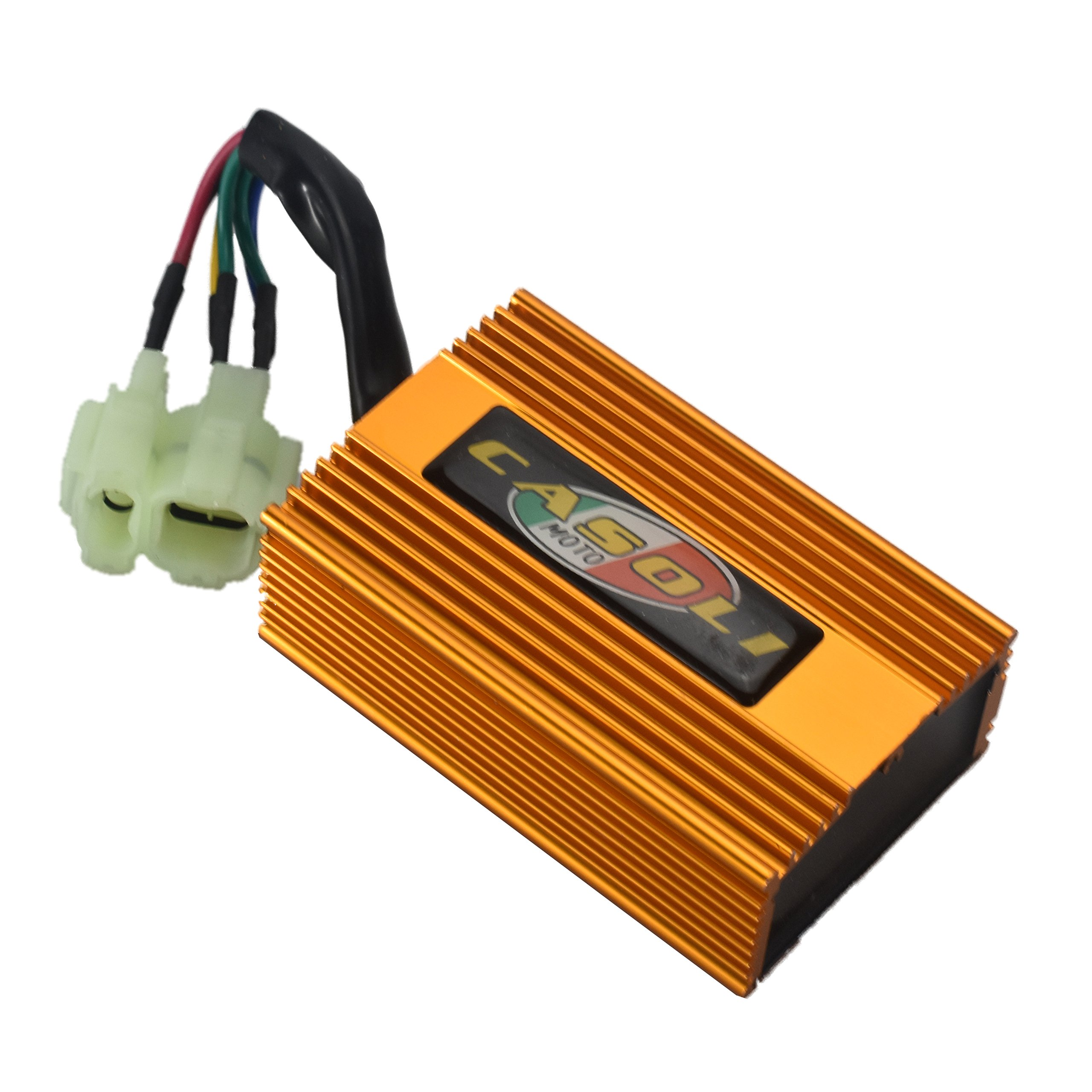 MaySpare High Performance GY6 DC CDI Box For 4-Stork Engine 125cc 150cc 250cc Chinese Scooter ATV 6 PINS
