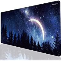 EXCO Mouse Pad Non-Slip Base,Comfortable to The Touch,Smooth Fabric,Positioning Accuracy Cleanable,Business Black Not…