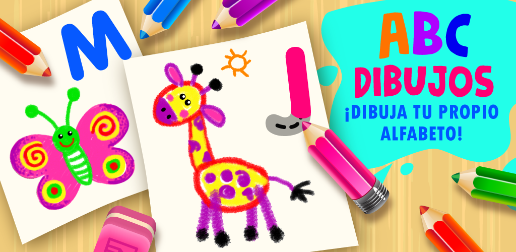 ABC Dibujos! Aprender a Dibujar Letras Juego Infantil