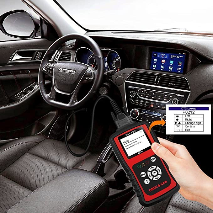 Amazon.com: Kzyee KC201 OBD2 Scanner, Universal EOBD/OBD II Car Code Reader/Eraser, Vehicle Engine Fault Code Diagnostic Scan Tool with Live Data for Diesel ...