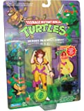 Teenage Mutant Ninja Turtles Year 1994 Cartoon Series 5 Inch Tall Action Figure - APRIL with Crook Catchin' Camcorder, Leg Holster and Babe Belt Plus Exclusive TMNT Collector Card