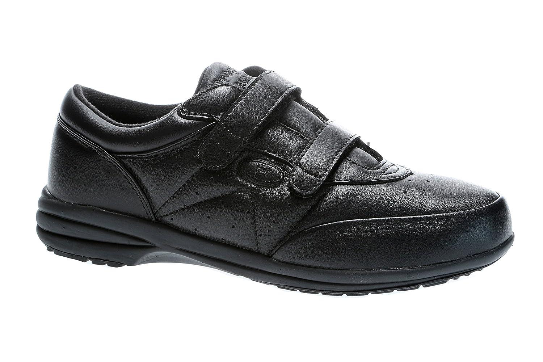 Propet W3840 - Zapatillas de cuero para mujer 38.5|negro - negro
