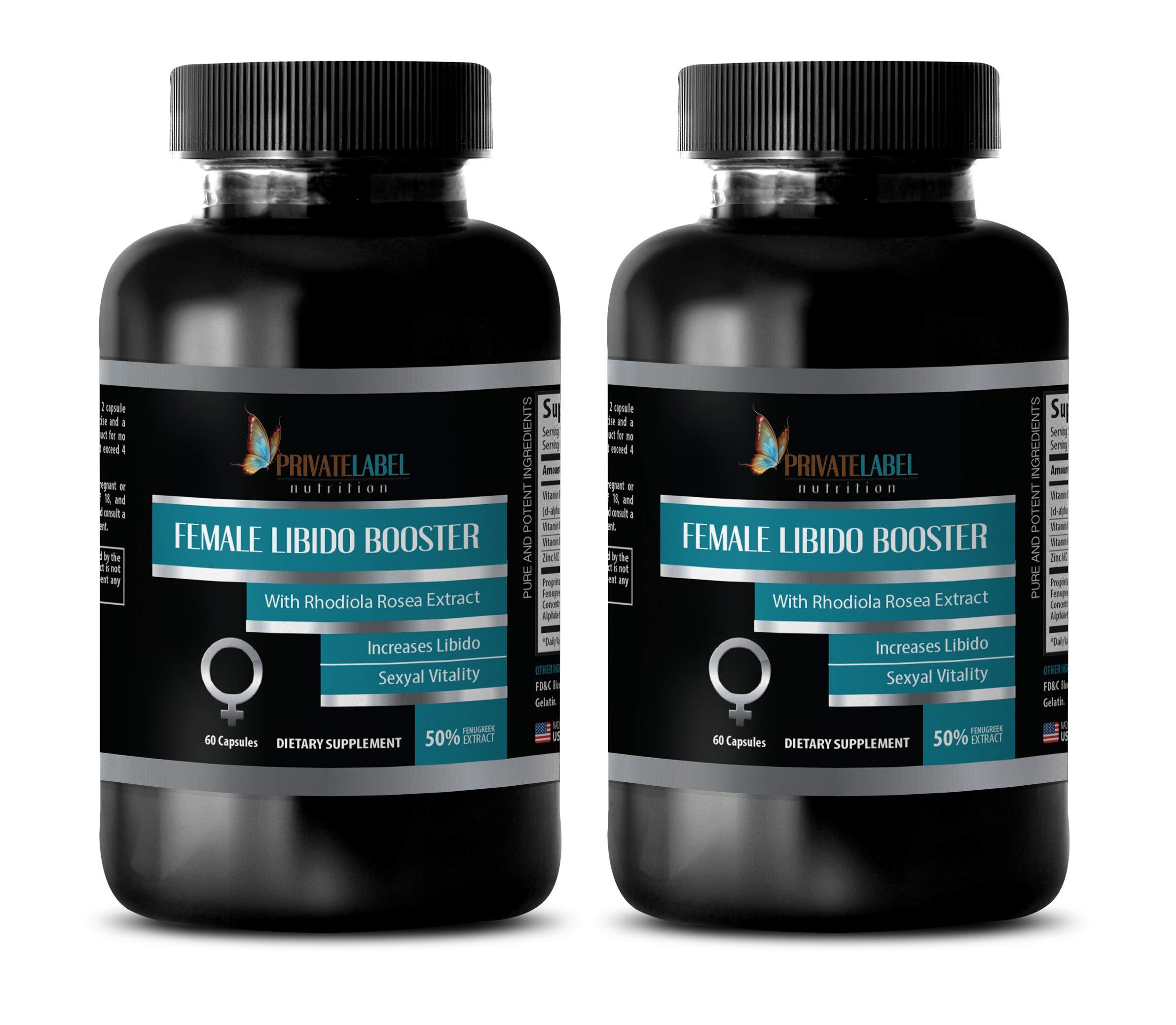 Boost libido Enhancer Women - Female LIBIDO Booster - Sexual Vitality - eurycoma longifolia Women - 2 Bottles 120 Capsules