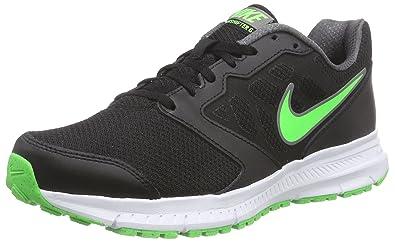 Nike Herren Downshifter 6 Laufschuhe Schwarz (BlackGreen