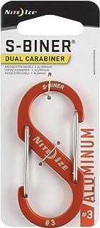 Nite Ize S-Biner Double Mousqueton en Aluminium N/A