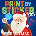 Paint by Sticker Kids: Christmas: Create 10 Pictures One Sticker at a Time! Includes Glitter Stickers