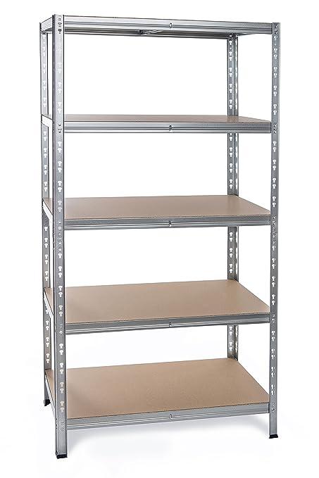 Estantería 180 x 60 x 60 – Estantería para cargas pesadas Diseño Estantería de Mercado de